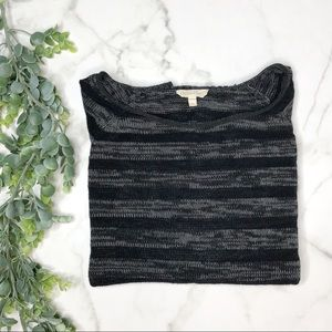 EILEEN FISHER Striped Organic Sweater